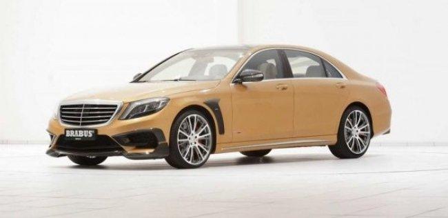 Brabus построил 850-сильный Mercedes-Benz S 63 AMG
