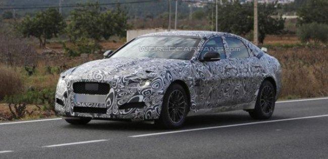 Jaguar завершает тесты нового поколения XF