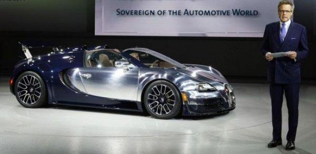 В Bugatti рассказали о планах на будущее