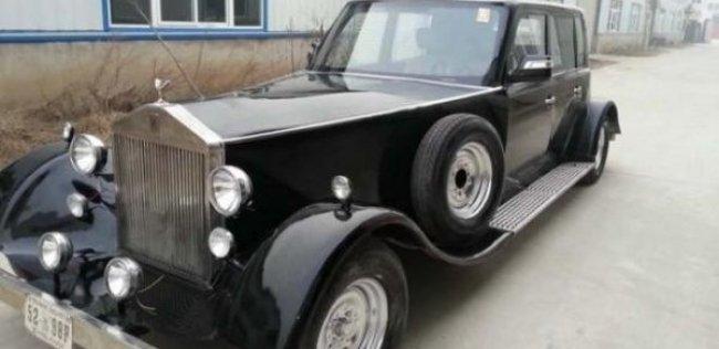 ������� ������� ���� 80-������� Rolls-Royce � ��������������