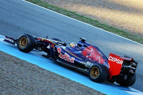 «Ред Булл» привез на испытания Формулы-1 болид в камуфляже