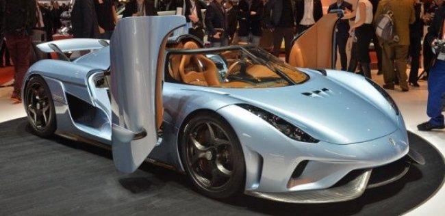 Koenigsegg построил 1500-сильный супергибрид