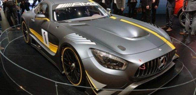 Мировая премьера гоночного Mercedes-AMG GT3 в Женеве