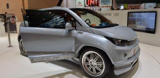 Швейцарцы показали автономный автомобиль с перемещающимся рулем