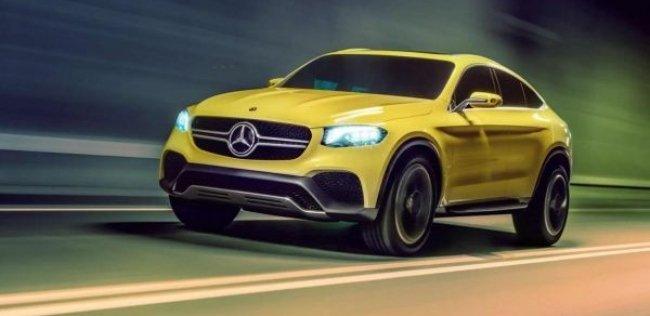 Серийной версии Mercedes-Benz GLC Coupe дали «зеленый» свет