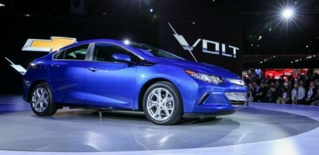 Chevrolet объявил цену на новый Volt