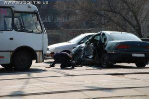 Каждый день в Киеве происходит около 200 ДТП