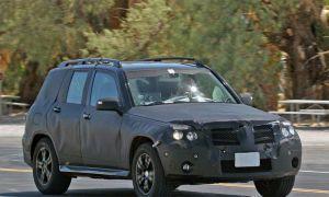 Mersedes-Benz GLK 2009 словили на тестах