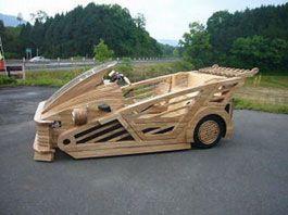 Сделанный из дерева авто стоит $32 500