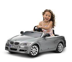 Уникальный автомобиль с откидным верхом БМВ 3 серии с электрическим приводом либо педалями для детей от 3 до 5 лет.