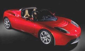 Роадстер Тесла обрел привлекательную премию за дизайн