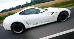 Инженеры из Edo Competition окрасили Феррари 599 GTB в белый оттенок