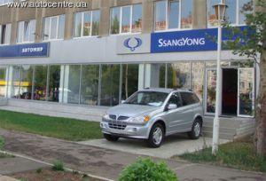 В Николаеве был замечен свежий официальный дилер СанЙонг