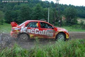 «Галиция» 2007, г. Львов: бригада MacCoffee Rally занимает первое место в командном зачете