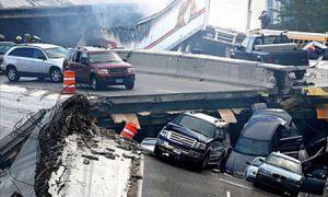 Количество потерпевших обрушения моста в Миннеаполисе вновь повысилось