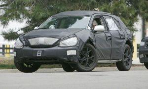 Вышли первые разведывательные фото нового Лексус RX