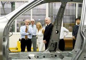 Дженерал Моторс посетил посетители к Запорожскому автомобильному заводу