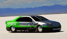 Водородный Форд определил рекорд скорости