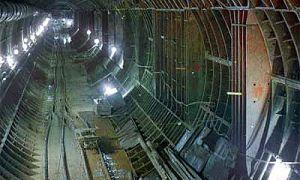 Самый короткий подземный туннель в городе Москва откроют через 3 года