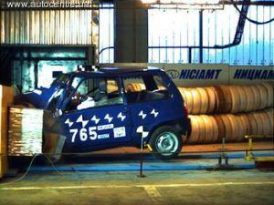 «СеАЗ» провел краш-тест «Оки» с японским двигателем