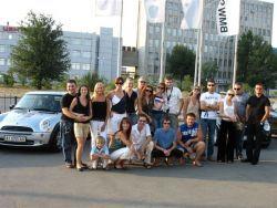 Российский клуб Мини Lovers устроил автопробег Киев-Днепропетровск-Киев.