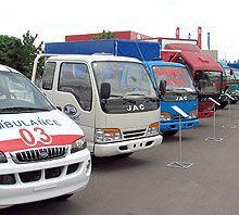JAC рассчитывает увеличить модельный ряд на Украине