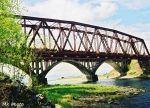 Жесть! В Рязанской области своровали мост!