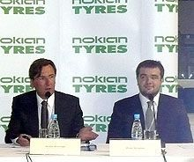 Шинный автоконцерн Nokian Tyres выходит на украинский рынок