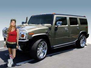 Солистка Fergie реализует собственный Hummer H2 с аукциона