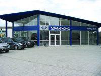 В Восточной Украине был замечен самый крупный автосалон СанЙонг
