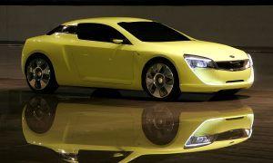 Киа представила концепт купе Kee Спортс