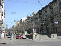 В Киеве урезано перемещение на улице Горестного