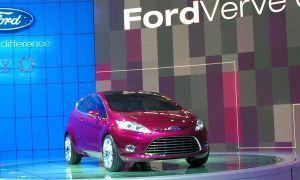 Концепт Форд Verve продемонстрировали во Франкфурте