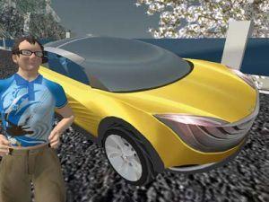 Мазда стала самой лучшей в Second Life