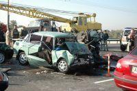 Страшная катастрофа на Столичном мосту (детали и фото)
