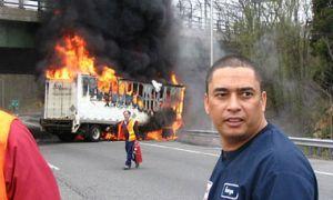 Албанец спалил собственный авто из-за провала излюбленной команды