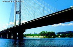 Будет закрыт мост через Днепр