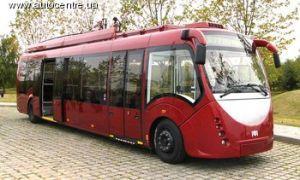 Белорусы произвели футуристский троллейбус
