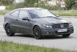 Шпионы нашли спорт-купе С-класса Мерседес