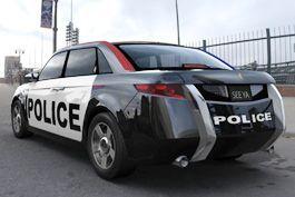 В Соединенных Штатах сделали особый авто для милиции