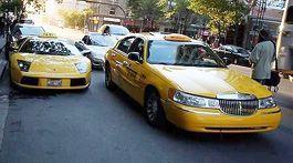 Из Ламборгини сделали такси