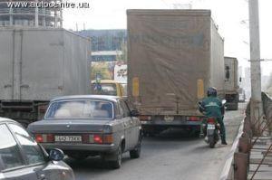 В Киеве урезана транспортировка небезопасных грузов