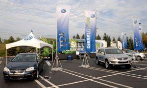 Фольксваген начал маркетинговую кампанию дизельных агрегатов в Соединенных Штатах