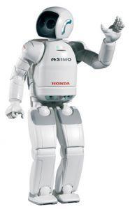 Свежий ASIMO. Азиатская премьера