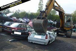 Английские сотрудники полиции истребили 10 млн. негодяйских авто