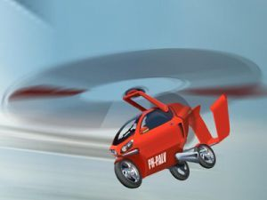 Вертомобиль PAL-V ONE будет стоить 100 млн. euro