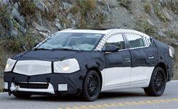 Вышли разведывательные фотографии Buick LaCross 2009
