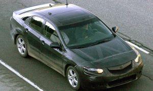 Вышли разведывательные фото Хонда Аккорд 2009