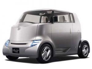 Концепт Тойота Hi-CT  лишь для Японии