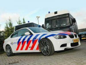 Голландские сотрудники полиции пересели на БМВ М3